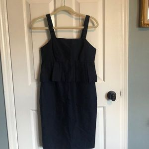 Jcrew Peplum Dress